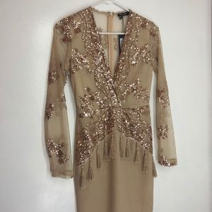 Sequined, Party Dress